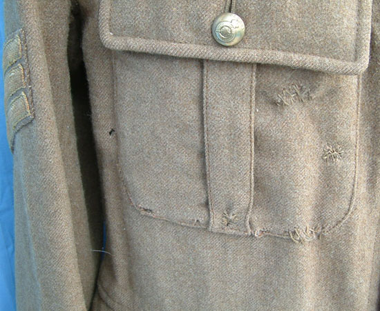 Th battalion calgary alberta nco s jacket